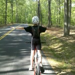my 11-year-old, Hunter, soars through Pocahontas Park in this #barshot. -Chester, VA - from @bvay