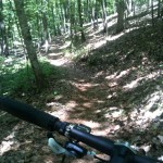 Johnson's Mountain @ OMSP in AL. the start to 2days ride let the fun begin!! - From @TheOtherGuy1
