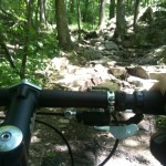 Going up blood rock on the Bump trail out at Oak Mountain State park AL. - from @TheOtherGuy1